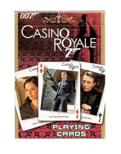 James Bond Collectibles Poker Playing Cards - Collection # 3 - Film 21 - Casino Royale @ niftywarehouse.com #NiftyWarehouse #Bond #JamesBond #Movies #Books #Spy #SecretAgent #007