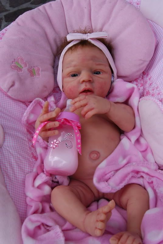 Solid Silicone Doll Full Body Baby Jenesys Anatomically Correct Girl