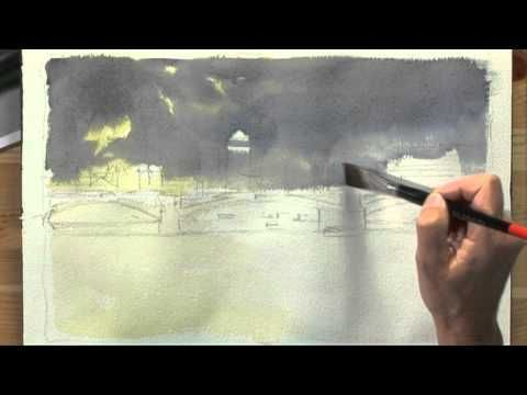 Painting London with Hazel Soan One - Part One: great painting tutorial with tips on how to view things through a painters eyes