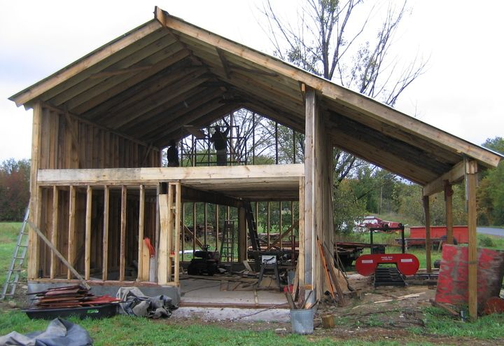 15 best images about barns on pinterest the family for Build your own pole barn