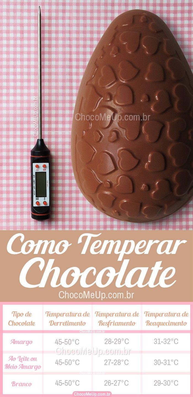 Como Fazer Temperagem De Chocolate Um Guia Sobre Os Diferentes