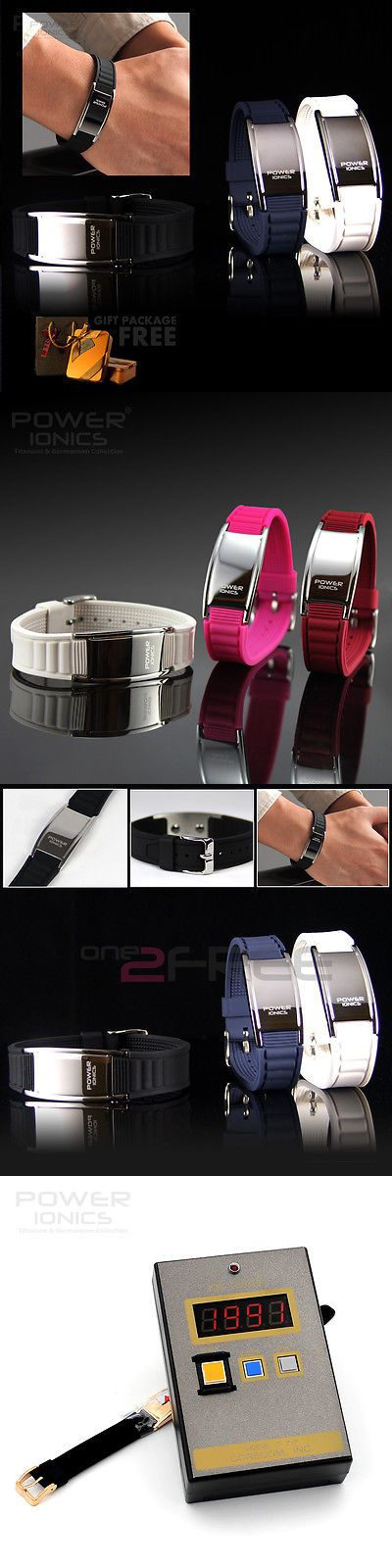 Other Golf Clothing 158939: Power Ionics Titanium Magnetic 2000Ions Bracelet Energy Wristband Free Gift Pack -> BUY IT NOW ONLY: $32.99 on eBay!