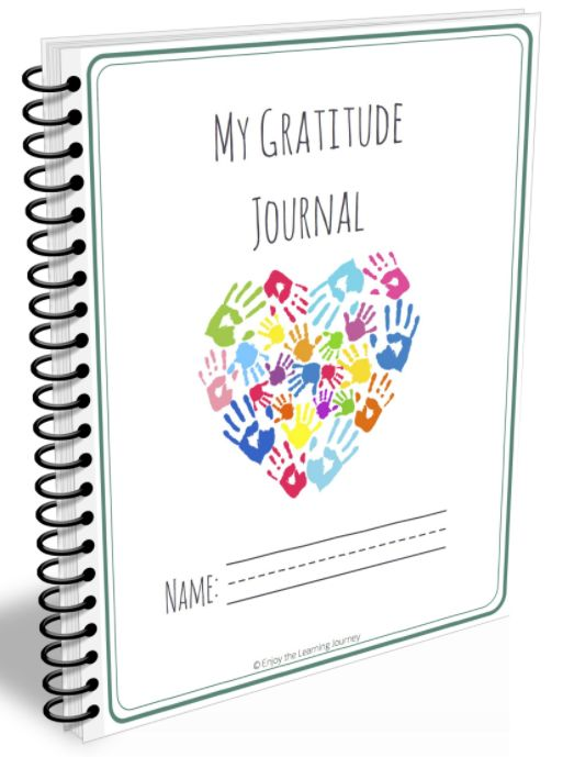 Free Printable 31-Day Gratitude Journal for Kids