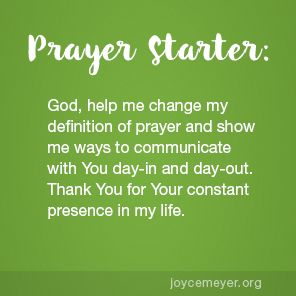Change Your Definition of Prayer