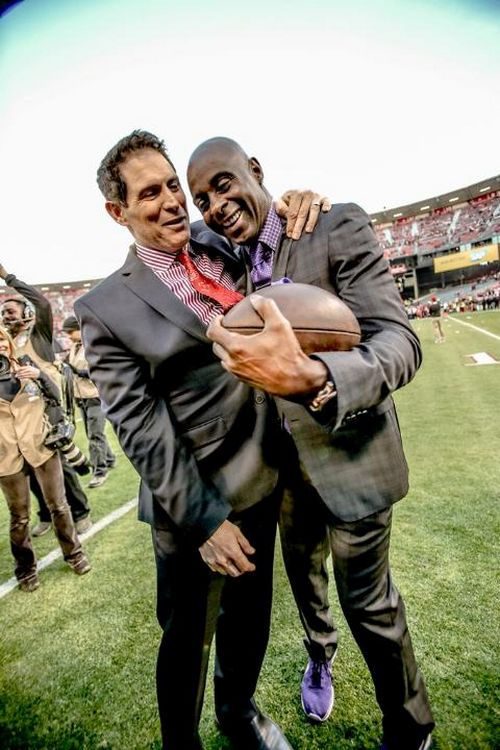 the legends...steve young & jerry rice