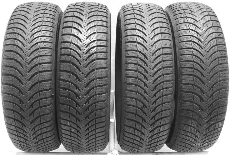 4 1956515 Michelin Alpin A4 195 65 15 Winter Mud Snow  Used Part Worn Tyres x4 T Save On Tyres Direct 01392203051