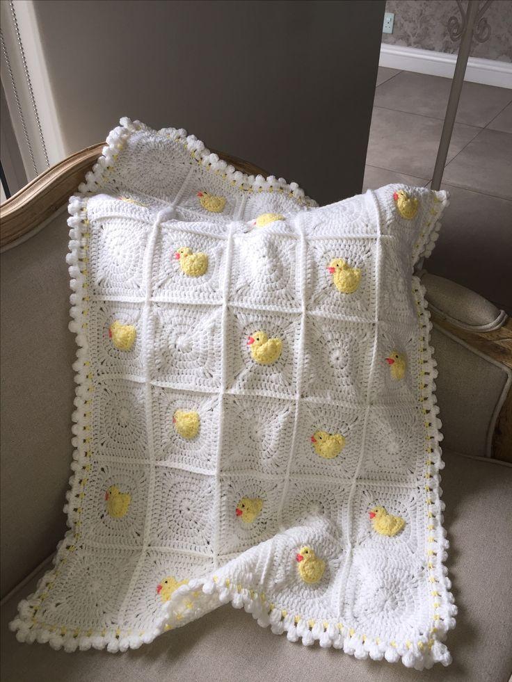 Little Duck Blanket by Sarah Jane Designs