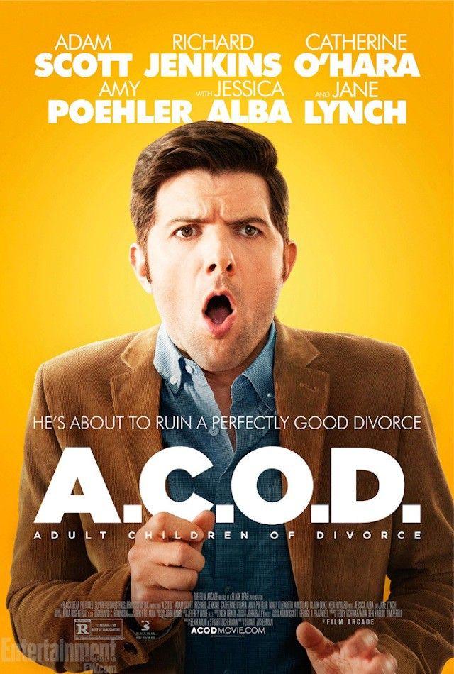 A.C.O.D. (2013) USA Adam Scott (+exec. prod), Richard Jenkins, Catherine O'Hara, Jane Lynch, Amy Poehler, Jessica Alba. 30/11/17