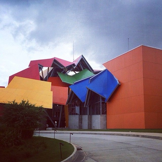 Biomuseo Panamá - Frank Gehry  #art #museum #architecture #colors