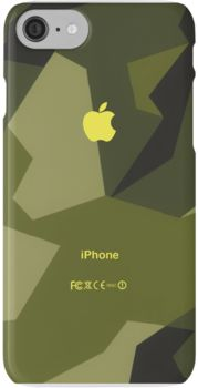Swedish army camo iPhone 7 Cases