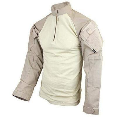 TRU-SPEC Tactical Response Uniform (TRU) 1/4 Zip Combat Shirt - Poly/Cotton - OPSGEAR