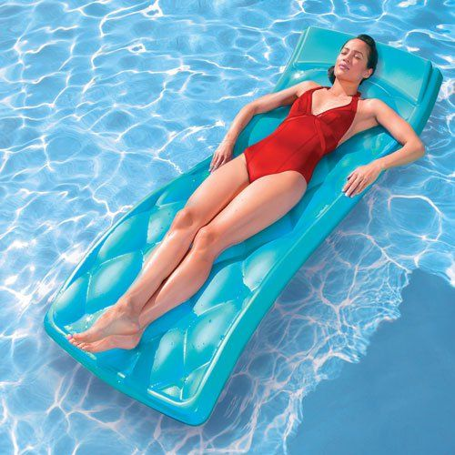 36 best pool floats loungers the occasional giant for Swimming pool loungers
