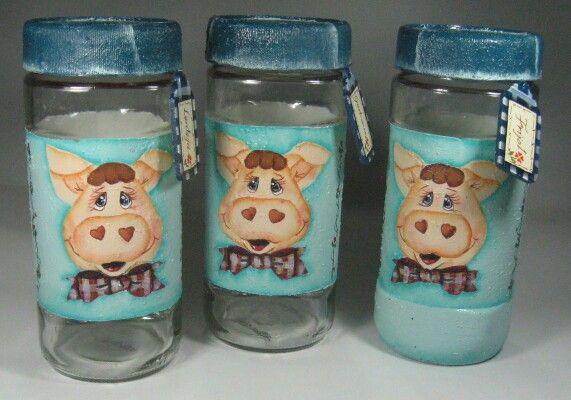 frascos en vidrio de una marca de cafe mis trabajos en