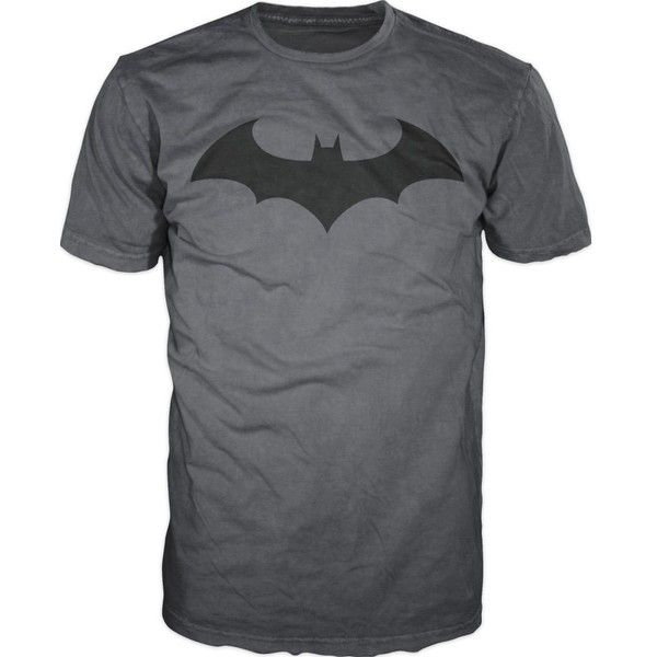 Batman Dark Knight Logo Bat Fly Mens T-Shirt (£8.02) ❤ liked on Polyvore featuring men's fashion, men's clothing, men's shirts, men's t-shirts and mens t shirts