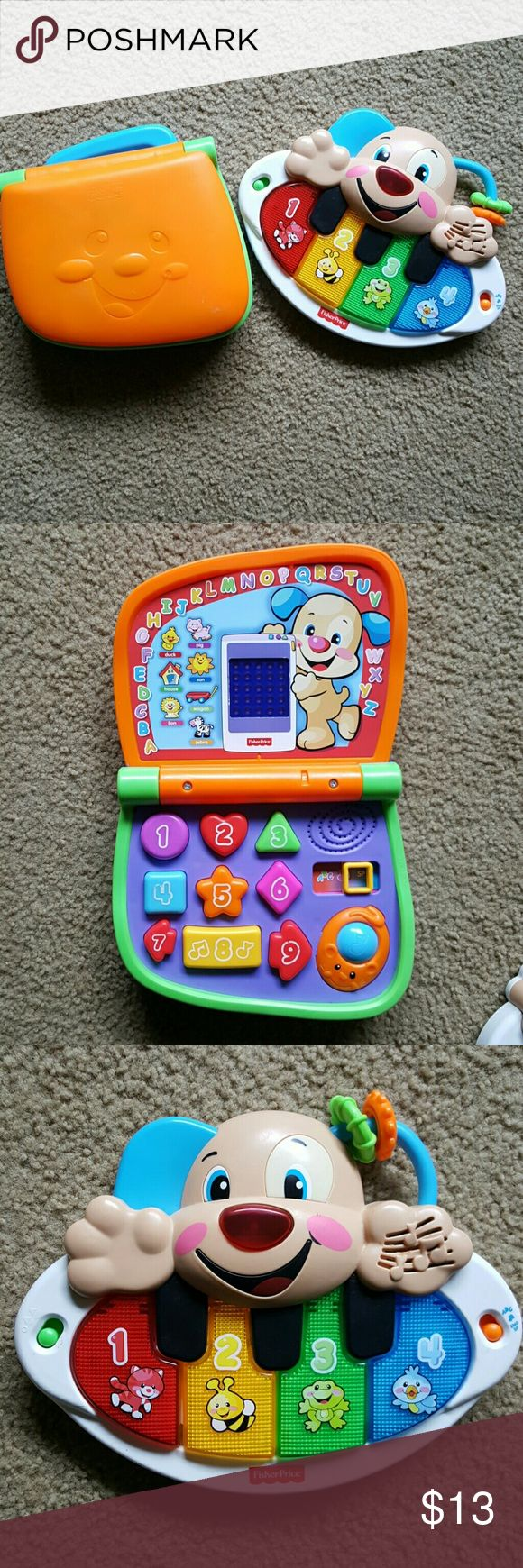 Fisher Price Bundle Used but still work great! Laptop and piano bundle. Fisher- Price Other