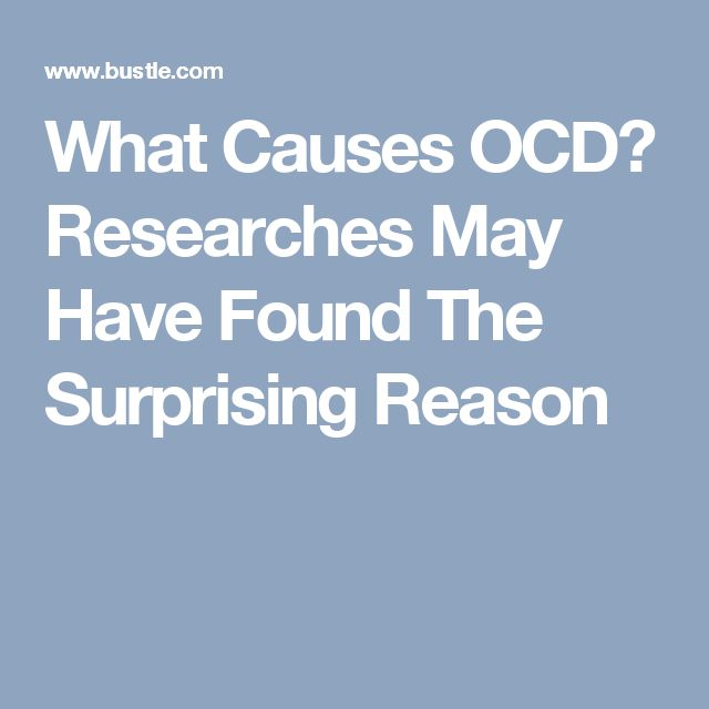 What Causes OCD? Researches May Have Found The Surprising Reason