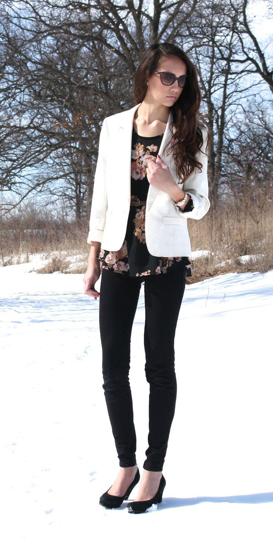 33 best White blazer images on Pinterest