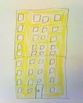 My house is like a big cheese with many many rooms so all my friends can come and visit me. Kaj, 5 years