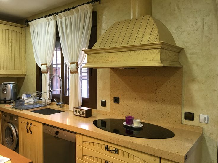 Colecci n madera r stica muebles de cocina edymar - Muebles de cocina rusticas ...