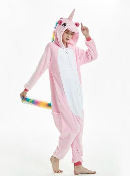 18db18e520 Women unicorn onesie cartoon animal pajama in 2018