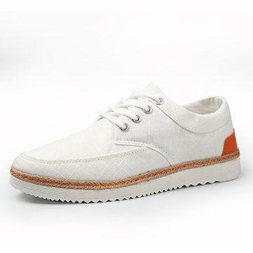 US Taille 6.5-11.5 Homme Chaussures de Sport Toile Causalité Extérieur Sport