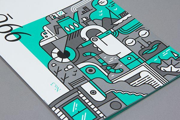 포인트 색상을 잘 활용한 디자인 [디자인 : 디자인 포트폴리오] KMUG