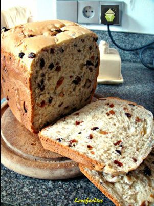 Cinnamon Raisin Bread-for the bread machine and also a recipe adapted for without a bread machine