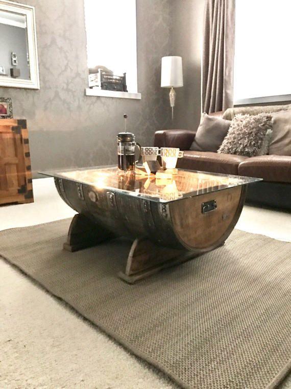 11 best oak barrel coffee tables images on pinterest | scotch