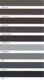Color Options (1 of 3) for our #Aluminum #Gutters