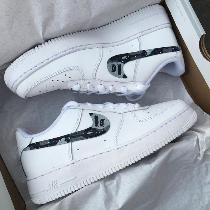 All the AF1 x Bape colourways I've made so far (swipe to the