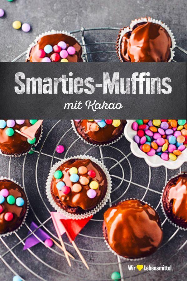 Smarties Muffins Rezept In 2020 Rezepte Muffins Und Smarties Kuchen