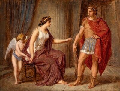 Theseus and Ariadne - Bertalan Székely