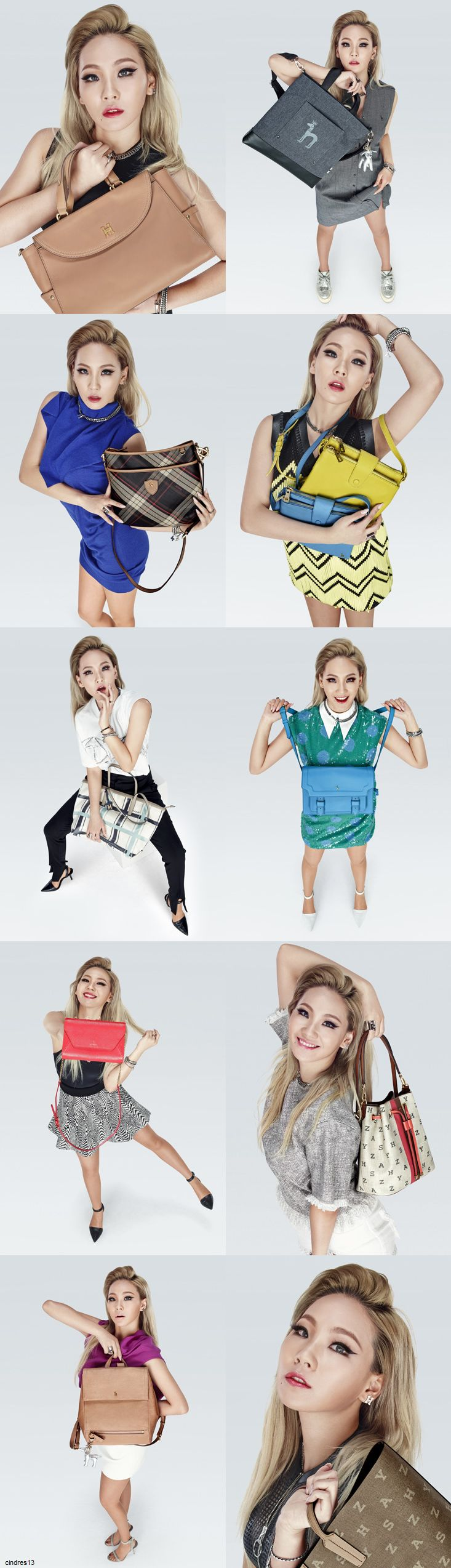 2NE1 | CL FOR HAZZYS ACCESSORIES 2015 S/S COLLECTION (FEBRUARY 10, 2015)