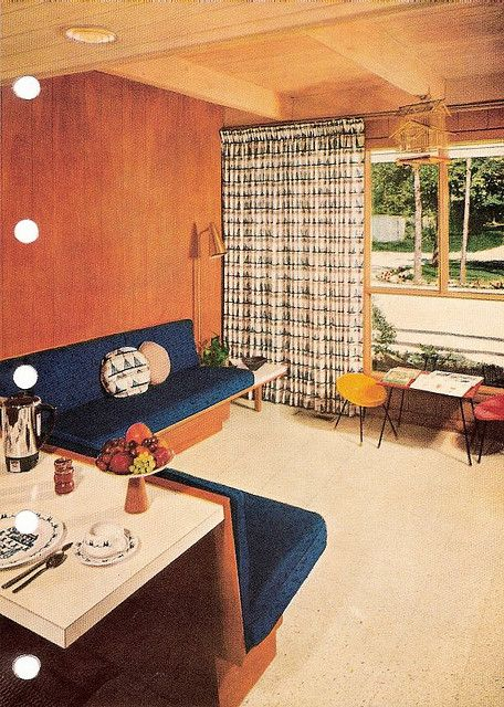 Interior Ideas From The U0027Better Homes And Gardens Decorating Booku0027, 1956
