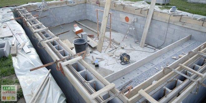 Les 25 meilleures id es de la cat gorie coffrage escalier for Realiser piscine beton