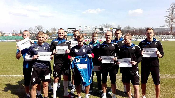 1L: Piłkarze Sandecji dołączyli do akcji dla Sebastiana Radzio