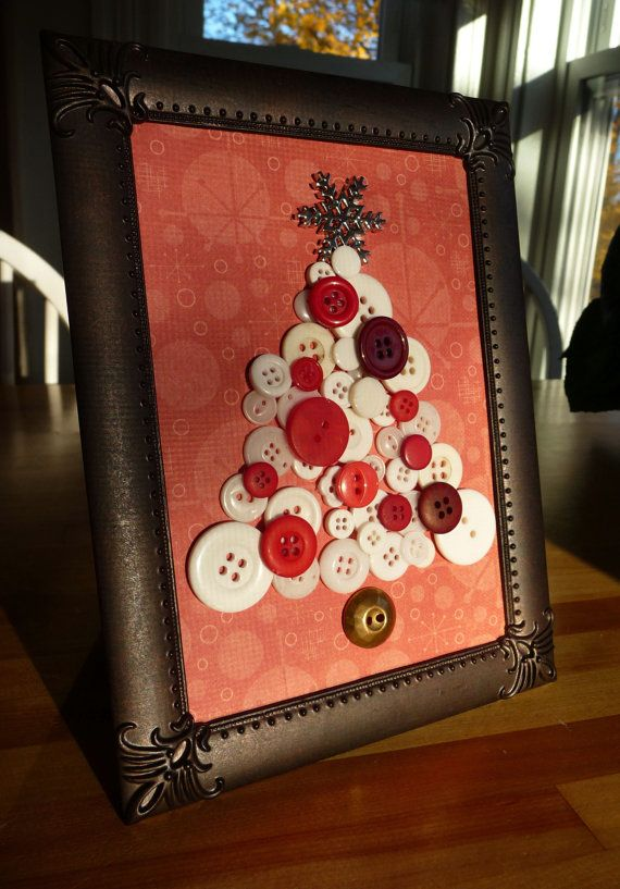 Button Christmas Tree by TheWrightBoutique, $19.99 #holidaydecor #christmas