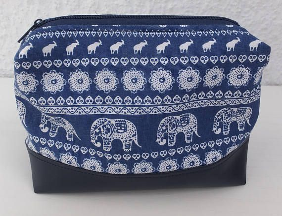 Zipped Pouch Make Up Bag Cosmetic Bag Gift for Her
