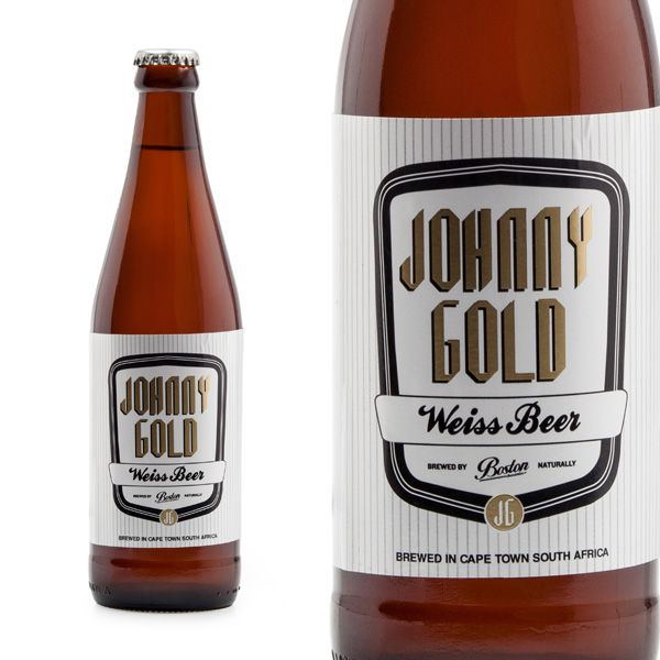 Boston Breweries Johnny Gold Weiss Beer - League of Beers