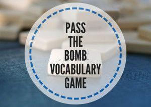 Vocabulary Game: Pass The Bomb