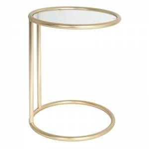 Leitmotiv Bijzettafel Glass Mat Goud