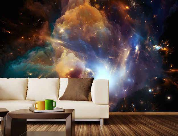 Una sala de estar del cosmos