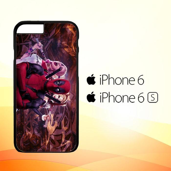 Harley Quinn and Deadpool O0692 iPhone 6|6S Case