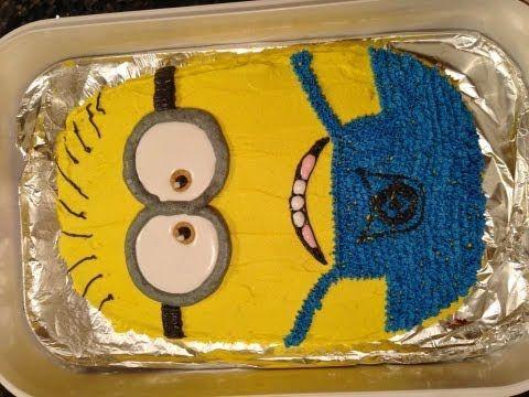 Despicable Me 2 Minion Cake Youtube Despicable Me