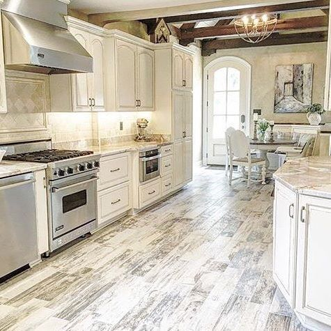 Happy Friday eve, friends! Before it gets too late I wanted to share this gorgeous kitchen that belongs to my friend Jeannie @theblushingbean for #decorcrushthursday I always love a white kitchen, but the hardwood tile, those wood beams and that arched door just make this space one of my very favorites! Jeannie's home is so charming (you have to visit her feed to see the exterior ) and beautifully decorated, right down to her sweet baby boy's nursery. Head on over and be prepared to get…