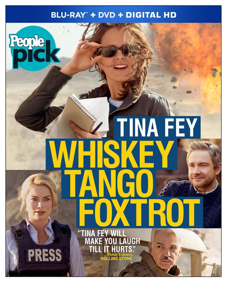 Whiskey Tango Foxtrot (2016) ... In 2002, cable news producer Kim Barker (Tina Fey) decides to shake up her routine by taking a daring new assignment in Kabul, Afghanistan. Assigned low-budget living quarters with other international journalists, she begins friendships with noted BBC correspondent Tanya Vanderpoel (Margot Robbie) and openly lecherous Scottish freelance photographer Iain MacKelpie (Martin Freeman). (27-Aug-2016)