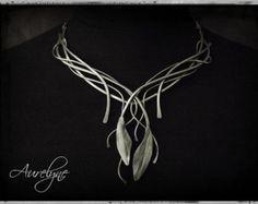 Edelstahl Halskette Erzählung Le Papillon von aurelynebijoux