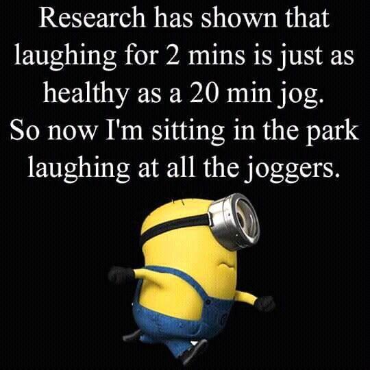 Joggers... ha ha!