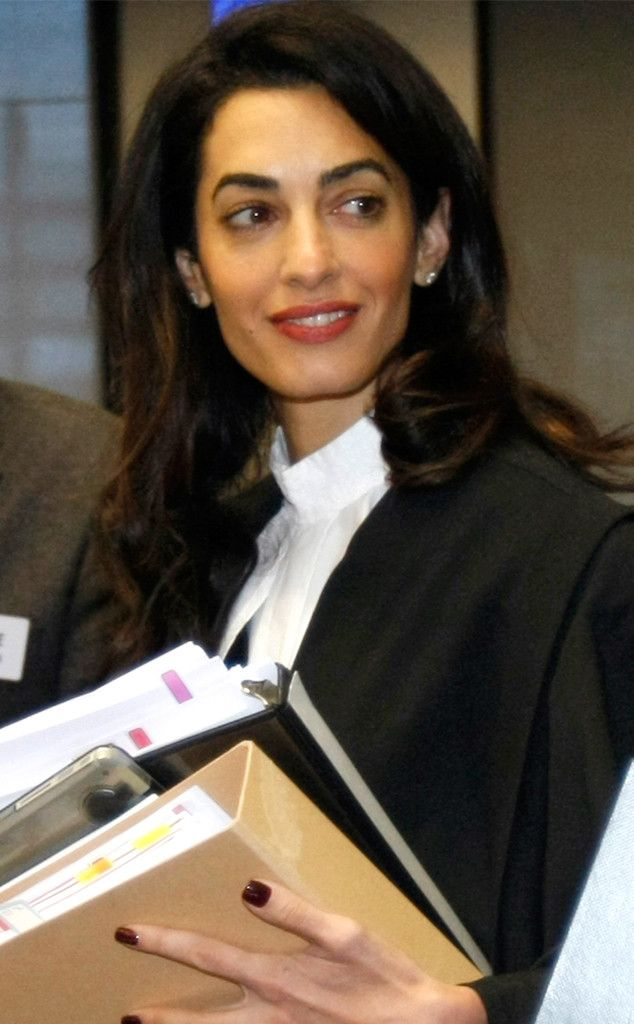 Amal Clooney Responds Perfectly When Asked About Her Fashion Choices While Representing Armenia in Human Rights Trial  Amal Clooney