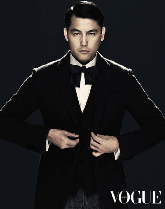 Jung Woo-Sung (정우성) for Vogue.